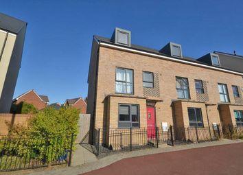 Thumbnail 4 bedroom end terrace house for sale in Fen Street, Brooklands, Milton Keynes, Buckinghamshire