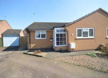 Thumbnail 2 bed bungalow for sale in Carbery Close, Oadby, Leicester