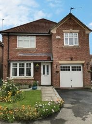 Thumbnail 4 bed detached house for sale in Cromwell Road, Hedon, Hull