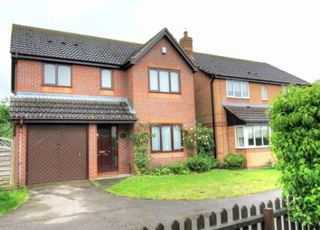Thumbnail 4 bed detached house for sale in Worcester Way, Attleborough, Norfolk