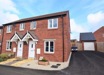 Thumbnail 3 bed end terrace house for sale in De La Warr Drive, Hanwell Chase, Banbury