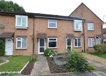 Thumbnail 2 bed terraced house for sale in Chercombe Close, Newton Abbot, Devon