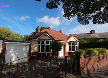 Thumbnail 2 bed bungalow to rent in The Gardens, Whitley Bay