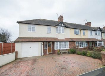 Thumbnail 4 bedroom end terrace house for sale in Fanshawe Crescent, Ware, Hertfordshire