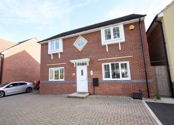Thumbnail 4 bed detached house for sale in Cardington Close Kingsway, Quedgeley, Gloucester