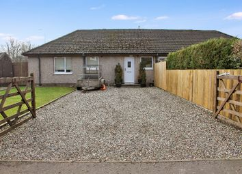 Thumbnail 3 bed semi-detached house for sale in Carseview, Braco, Perthshire