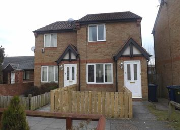 Thumbnail 2 bedroom link-detached house to rent in Ambergate Close, Westerhope, Newcastle Upon Tyne