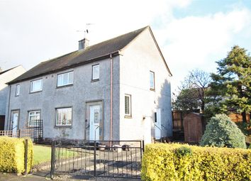 Thumbnail 2 bedroom semi-detached house for sale in Manor Crescent, Tullibody, Alloa