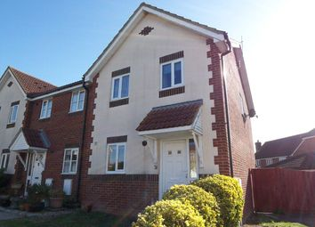Thumbnail 3 bed end terrace house to rent in Catsfield Close, Eastbourne