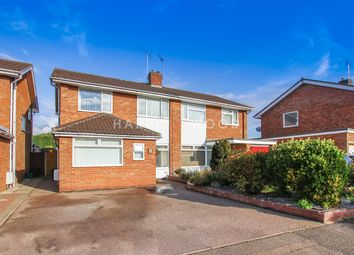 Thumbnail 4 bed semi-detached house for sale in Newcastle Avenue, Colchester