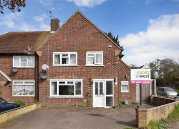 Thumbnail 3 bed semi-detached house for sale in Flatt Road, Nutbourne, Chichester, West Sussex
