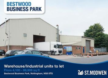 Thumbnail Light industrial to let in Estate Office, Bestwood Business Park, Bestwood Village, Nottingham
