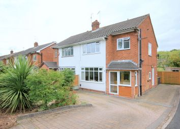 Thumbnail 3 bed semi-detached house for sale in Meaford Road, Barlaston, Stoke-On-Trent