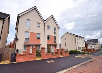 Thumbnail 3 bed semi-detached house for sale in Younghayes Road, Cranbrook, Exeter