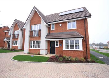 Thumbnail 4 bed detached house for sale in Hubbard Road, Bracknell