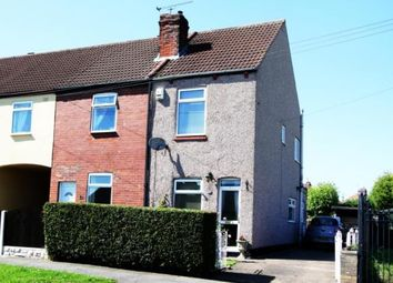 Thumbnail 2 bed end terrace house for sale in Cross Street, Maltby, Rotherham, South Yorkshire