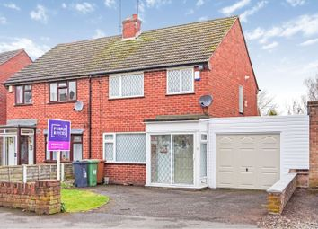Thumbnail 3 bed semi-detached house for sale in New Street, Walsall