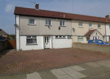 Thumbnail 3 bedroom end terrace house for sale in Heol Pant Y Deri, Ely, Cardiff