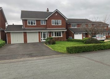 Thumbnail 4 bed detached house for sale in Cleves Crescent, Cheslyn Hay, Walsall