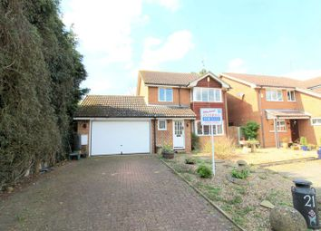 Thumbnail 4 bed detached house for sale in The Spiert, Stone, Aylesbury