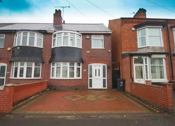Thumbnail 3 bedroom semi-detached house for sale in Barkby Road, Leicester