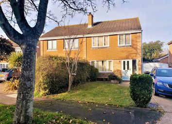Thumbnail 3 bed semi-detached house for sale in Haselworth Drive, Gosport