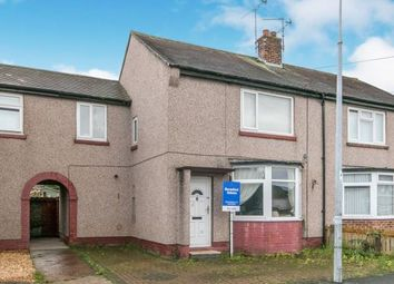 Thumbnail 3 bed terraced house for sale in Meredith Crescent, Rhyl, Denbighsire, .