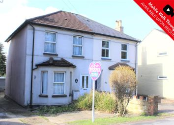 Thumbnail 3 bed semi-detached house for sale in Vale Road, Ash Vale, Surrey