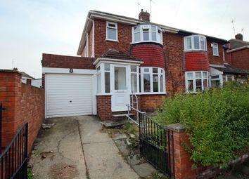 Thumbnail 3 bed semi-detached house for sale in Troutbeck Road, Seaburn Dene, Sunderland