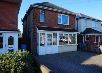 Thumbnail 3 bedroom detached house for sale in St. Clements Road, Poole