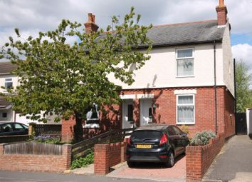 Thumbnail 2 bed semi-detached house for sale in Cove Road, Farnborough