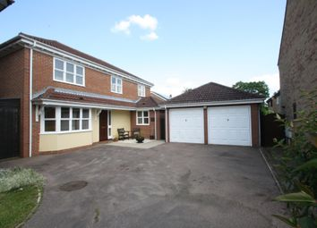 Thumbnail 4 bed detached house for sale in Borley Crescent, Elmswell, Bury St. Edmunds
