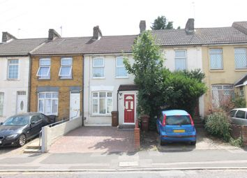 Thumbnail 3 bed terraced house to rent in Gillingham Road, Gillingham, Kent