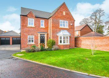 Thumbnail 4 bed detached house for sale in Sergeant Drive, Paddington, Warrington