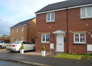 Thumbnail 2 bed semi-detached house for sale in Rhodfa'r Ceffyl, Carway, Kidwelly