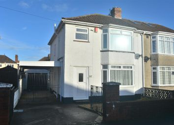 Thumbnail 3 bed semi-detached house to rent in Greylands Road, Bristol