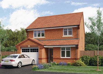 "Thumbnail 3 bed detached house for sale in ""Derwent"" at Leeds Road, Thorpe Willoughby, Selby"