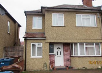Thumbnail 4 bed semi-detached house to rent in Field End Road, Ruislip