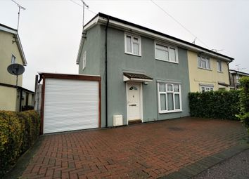 Thumbnail 3 bed semi-detached house for sale in Bramford Lane, Ipswich, Suffolk