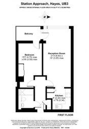 Thumbnail 1 bed flat for sale in Vantage Building, Hayes