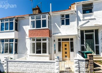 Thumbnail 3 bed terraced house for sale in Roedale Road, Brighton, East Sussex