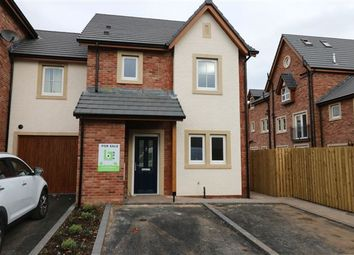 Thumbnail 3 bed town house for sale in Hazel Grove, Carlisle, Cumbria