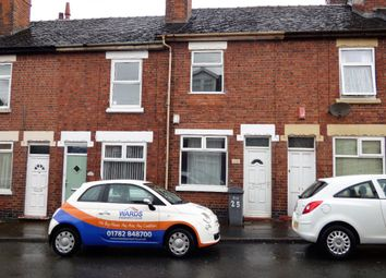 Thumbnail 2 bed terraced house to rent in Hollings Street, Stoke-On-Trent