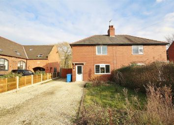 Thumbnail 3 bed semi-detached house for sale in Station Road, Foggathorpe, Selby