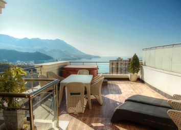 Thumbnail 2 bedroom apartment for sale in Budva, Becici - Luxury Apartment 105m2, With Panoramic Sea Views, Budva, Becici, Montenegro