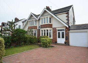 Thumbnail 4 bed semi-detached house for sale in Walpole Avenue, South Shore, Blackpool