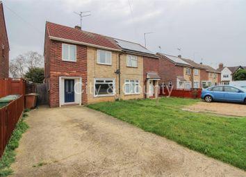 Thumbnail 3 bed semi-detached house for sale in Hallfields Lane, Gunthorpe, Peterborough