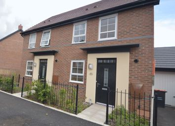 Thumbnail 2 bed semi-detached house for sale in Rees Way, Lawley Village, Telford