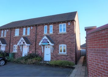 Thumbnail 3 bed end terrace house to rent in Richardson Way, Derby