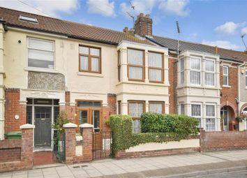 Thumbnail 4 bedroom terraced house for sale in Hayling Avenue, Portsmouth, Hampshire